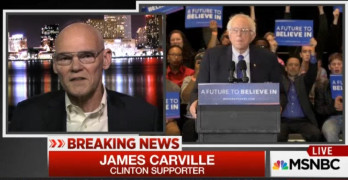 James Carville goes ballistic on All-In - We do not need a revolution right now (VIDEO)