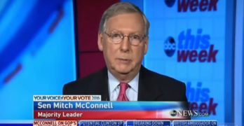 GOP Senate Leader refuses will not answer if Trump qualified for presidency