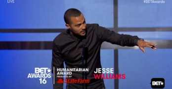 Jesse Williams BET Humanitarian Award