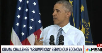 Obama rubs Democratic reality into Republican town (VIDEO)
