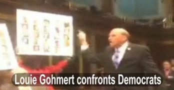 Republican Louie Gohmert verbally assault Democratic sit-in in Congress