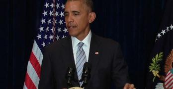 President Obama addresses police shootings (VIDEO)