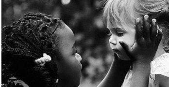 Race Black White kids
