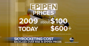 400% hike in Epipen price another reason for Medicare-for-all
