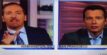 Chuck Todd balks as Obama's campaign manager called Trump a psychopath (VIDEO)