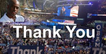 Thank You DNC Democratic National Convention