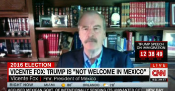 Fmr Mexican President slams Trump'visit: You are not welcomed here (VIDEO)