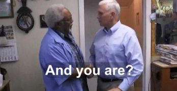 Watch shocked barber unaware who Mike Pence is after cutting Pence's hair (VIDEO)