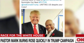 Busted - CNN exposes Trump convention speaker Mark Burns pastor as a fraud