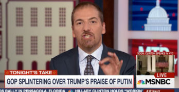 Chuck Todd slams Trump for criticizing US Foreign Policy & Press on Russian State run TV (VIDEO)