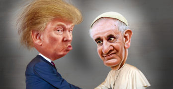 Evangelical Donald Trump, Pope Francis