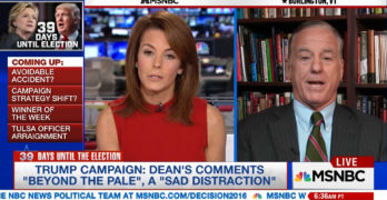 Howard Dean tongue lashed media on MSNBC (VIDEO)