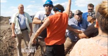 Mainstream Media ignores big oil violence against protesters Dakota Access Pipeline (VIDEO)