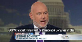GOP Strategist Steve Schmidt Hillary Rodham Clinton 45th President