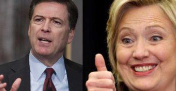 James Comey, Hillary Clinton