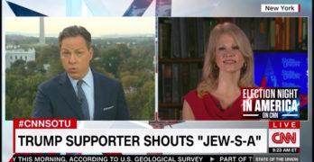 Kellyanne Conway goes ballistic as CNN Jake Tapper calls out racist Trumpians (VIDEO)