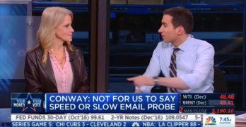 Kellyanne Conway makes light of rape suit against Trump vs email hype (VIDEO)