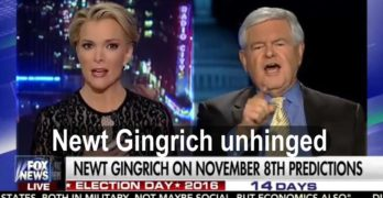 Newt Gingrich unhinged