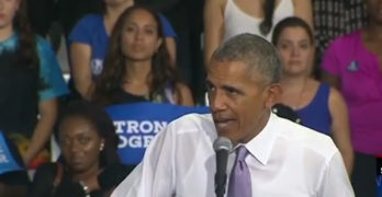 Obama calls out Marco Rubio with his own words campaigning for Clinton in Florida