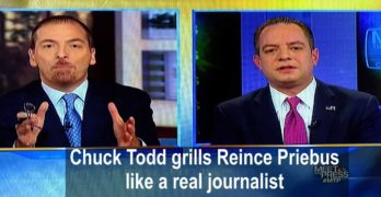 Chuck Todd grills Reince Priebus on Russian assault on election (VIDEO)