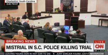 Judge declare mistrial in South Carolina Police murder of black man (VIDEO)