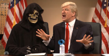 Saturday Night Live had fun with Trump's Twitter obsession while delivering a scary reality (VIDEO)