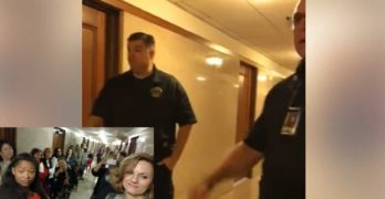 Houston Police called & escorted from Ted Cruz Houston Office after refusing meeting with most