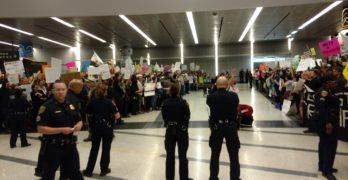 Houston Attorneys vow to stay as long as it takes to free Muslims held at airport (VIDEO)