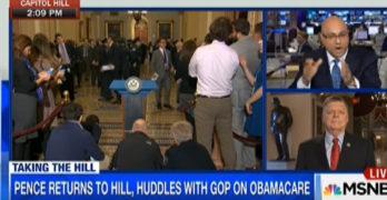 MSNBC Ali Velshi's real journalism slams Congressman's Obamacare lie in real time (VIDEO)