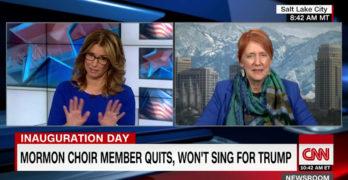 Mormon Tabernacle Choir member disregards CNN anchors's disrespect (VIDEO)