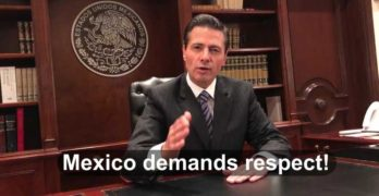 Trump Nieto Mexico Mexican President Wall