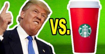 Donald Trump, Starbucks, Howard Schultz