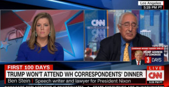 Ben Stein said media unjustly brought down Nixon and trying the same on Trump. Really