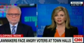CNN Blitzer used video evidence to call out Rep Marsha Blackburn lie (VIDEO)