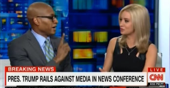 'Don't touch me': Panelist blows up on Trump supporter's microaggression on CNN (VIDEO)