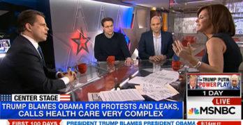MSNBC panelists destroys Trump spokesman defending Trump lies (VIDEO)