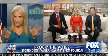 SHAMEFUL - Kellyanne Conway goes on Fox News and promotes Ivanka Trump product line