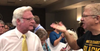 Watch constituents tear into GOP official resurrecting death panel lies at town hall (VIDEO)