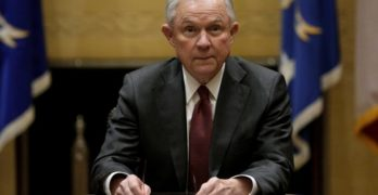 Sessions holds his first meeting with heads of federal law enforcement components