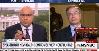 Ali Velshi exposes GOP Congressman ignorance on Health care, tax economics, and Canada