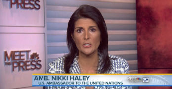 Nikki Haley What General Mattis and the military did was just a rock-star performance. (VIDEO)
