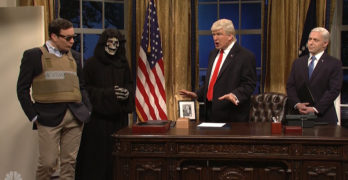 Saturday Night Live skit encapsulates Trump's first 100 days and more (VIDEO)