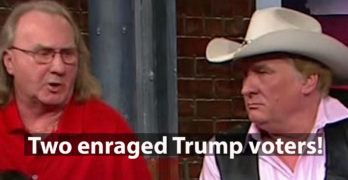 Two enraged Trump voters not mincing words as they slam his failures 2