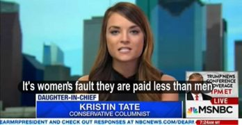Watch Trump apologist blames women for getting paid lower than men (VIDEO) 2
