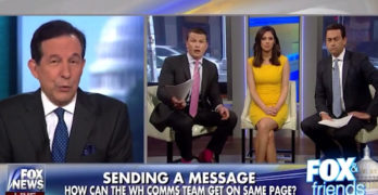 Fox News Chris Wallace to Fox & Friends You are having a very selective view of history (VIDEO)