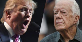 Jimmy Carter Donald Trump