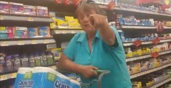 Trump Effect Walmart racist shopper rant against Latina and black woman (VIDEO)