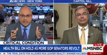 Ali Velshi destroys lying GOP Congressman as he schools him on healthcare (VIDEO)