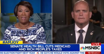 Joy-Ann Reid grills Congressman and blast Trumpcare for its evilness (VIDEO)