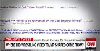 CNN identified name of real author of Trump wrestling CNN beat down GIF